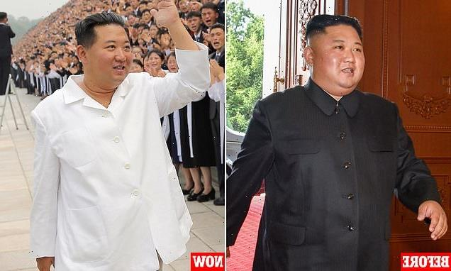 Kim Jong Un is slimmer than ever in new photos