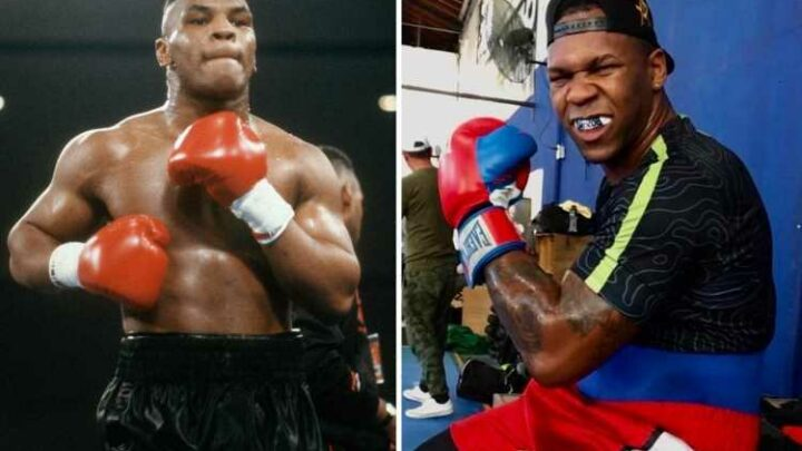 Lenier Pero is Mike Tyson lookalike with staggering 90 wins on amateur record looking to take over heavyweight division