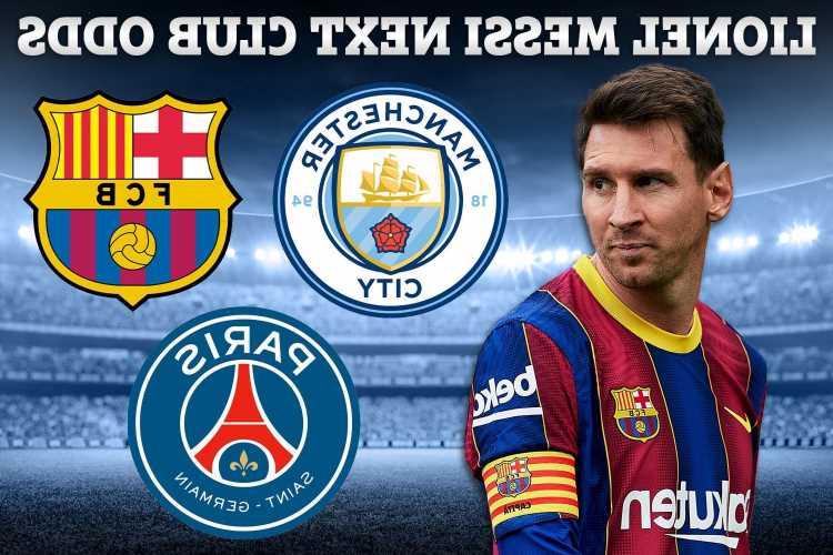 Lionel Messi transfer odds – PSG lead Man City, Man Utd & Chelsea after Barcelona announcement, Rangers & Celtic 150/1