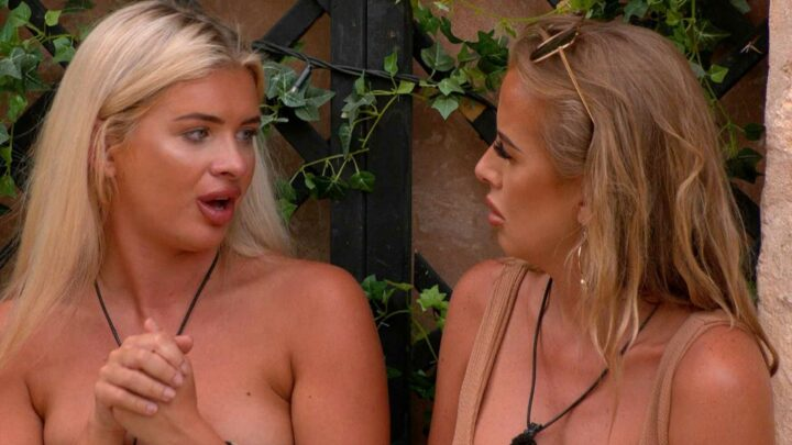 Love Island fix claims as fans insist producers TOLD Faye to comfort tearful Liberty outside while Kaz was out