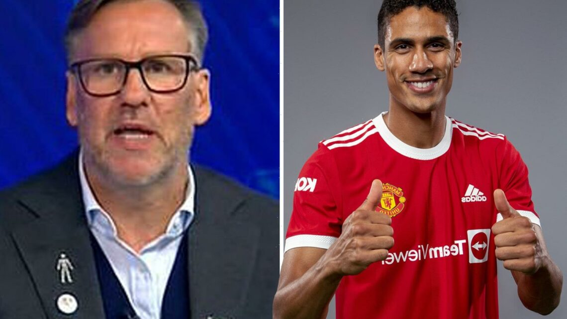 Man Utd have made the 'signing of the summer' with Raphael Varane says former Arsenal star Paul Merson