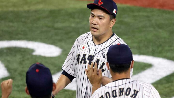 Masahiro Tanaka knocked out of Olympics game early against Team USA