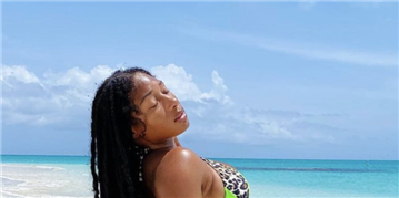 Megan Thee Stallion And Her Toned Abs Are Thriving By The Pool In No-Makeup Bikini Photos On Instagram