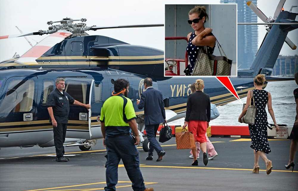 Melissa DeRosa spotted boarding helicopter with Cuomo after his resignation
