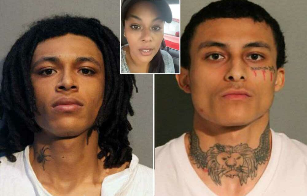 Mom of brothers charged in cop's killing arrested while trying to visit son