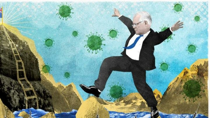 Morrison's election plan? It's as easy as A, B or C