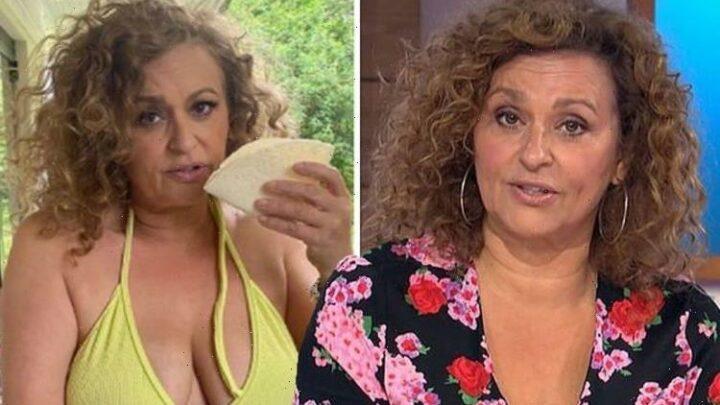 Nadia Sawalha, 56, slams 'ridiculous' comments over how she should look amid bikini snaps