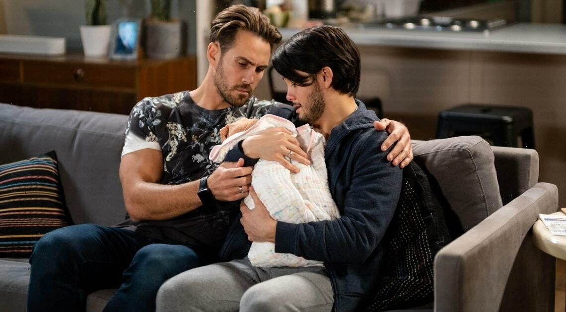 Neighbours' Aaron star teases baby Isla's true identity after huge Paul betrayal