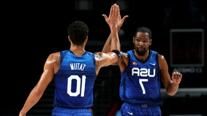 Olympics 2021 updates: Gold medal game at stake for U.S. men's hoops, USWNT seeks bronze, plus more track action in Tokyo