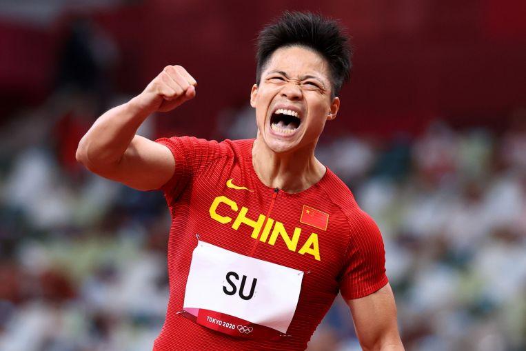 Olympics: China's Su Bingtian blasts into Olympic 100m final, Trayvon Bromell out
