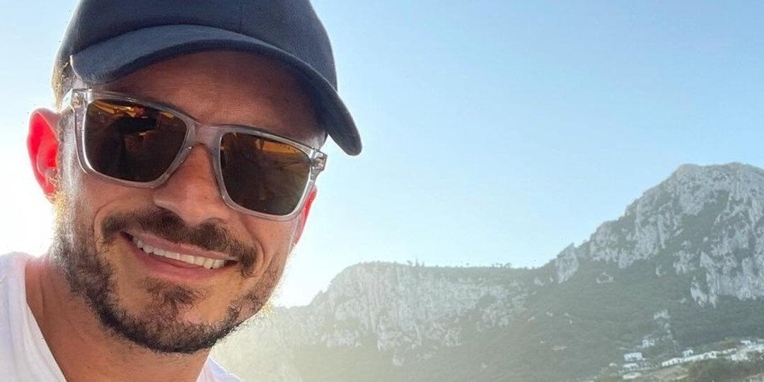 Orlando Bloom's Butt Made a Cameo on Instagram