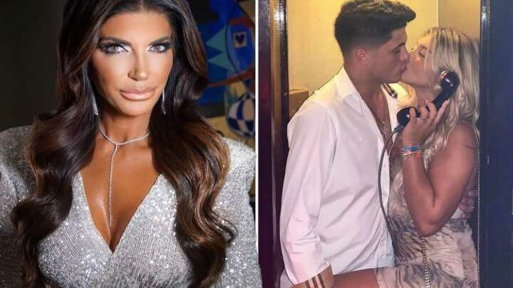 RHONJ star Teresa Giudice's daughter Gia, 20, packs on the PDA with boyfriend as fans beg her to stop plastic surgery