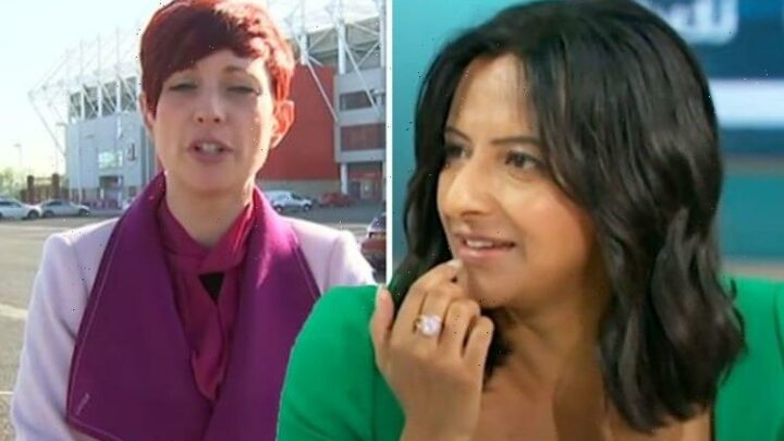 Ranvir Singh apologises to GMB co-star after host 'missed' colleague's exit