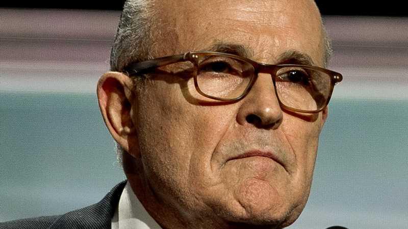 Rudy Giuliani Has A Surprising New Gig