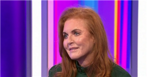 Sarah Ferguson shares her excitement at being a first time grandmother to August