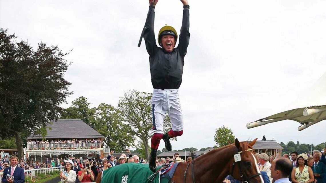 Superstar Stradivarius bounces back to winning ways in thrilling Lonsdale Cup victory as Frankie Dettori chokes up