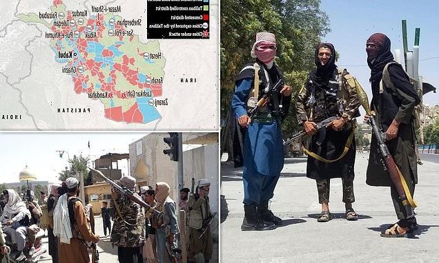 Taliban take Afghanistan's third-biggest city Herat