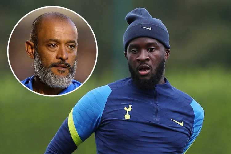 Tanguy Ndombele looks to be frozen out by Nuno as Tottenham boss confirms midfielder will NOT play this weekend