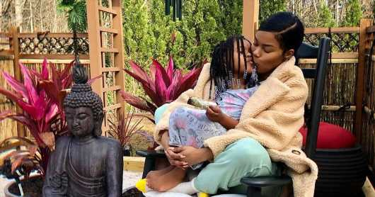 Teyana Taylor Can't Pick Up Kids for 6 Weeks After Breast Lump Surgery