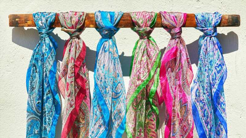 The DIY Silk Scarf Hacks Taking Over TikTok