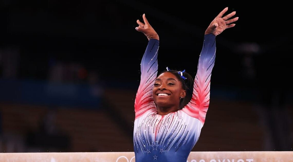 The Tiny Nail-Art Detail You May Have Missed During Simone Biles's Epic Beam Routine