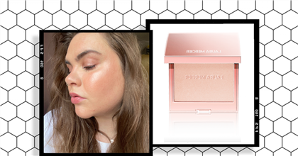 """""""The glow-giving Laura Mercier highlighter I'll be wearing all summer"""""""