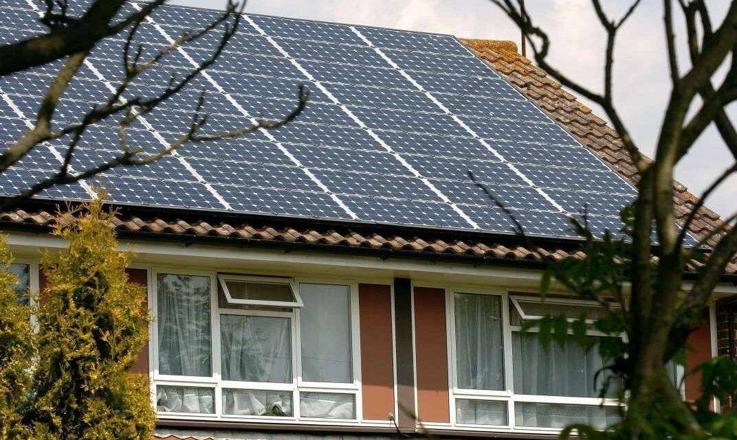 Third of Brits inspired by their neighbours' green gadgets including solar panels and electric cars