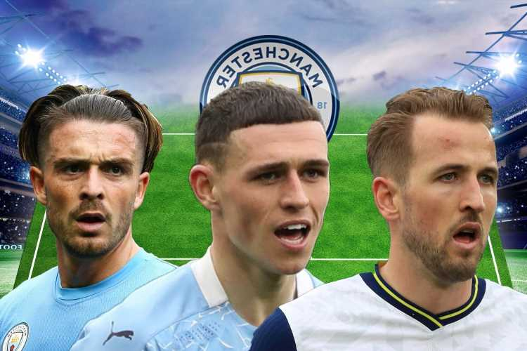 Three ways Man City could line-up with star-studded attack including Kane – but can Foden and Grealish play together?