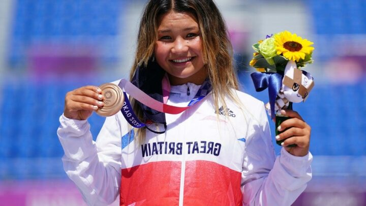 Tokyo Olympics: Sky Brown's final flourish creates history with skateboarding bronze medal aged 13