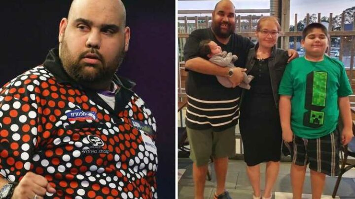 Top darts stars raising money for tragic Kyle Anderson's young family after his shock death aged just 33