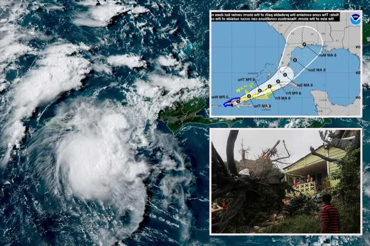 Tropical Storm Fred – Florida residents told to 'review disaster plans' as flooding & gales to pummel state this weekend