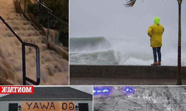 Tropical storm Henri barrels towards Rhode Island packing 60mph winds