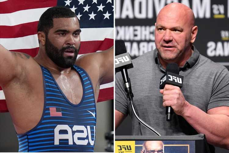UFC chief Dana White to meet Gable Steveson this weekend as WWE boss Vince McMahon circles Olympic gold medallist