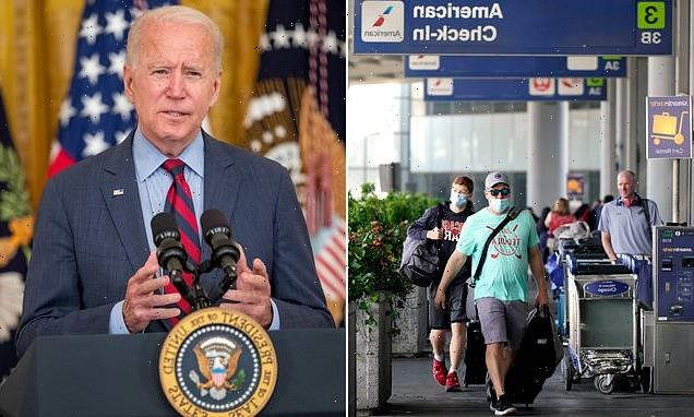 US travel ban may be lifted for double-jabbed tourists, Biden reveals