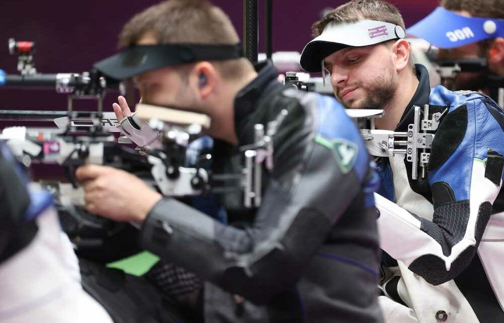 Ukrainian shooter blows Olympic medal chance by hitting rival's target
