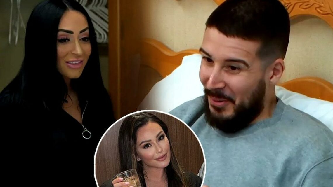 Vinny Fears Angelina's Birthday Speech for JWoww Could Spark 'Another Year of Drama' (Exclusive)