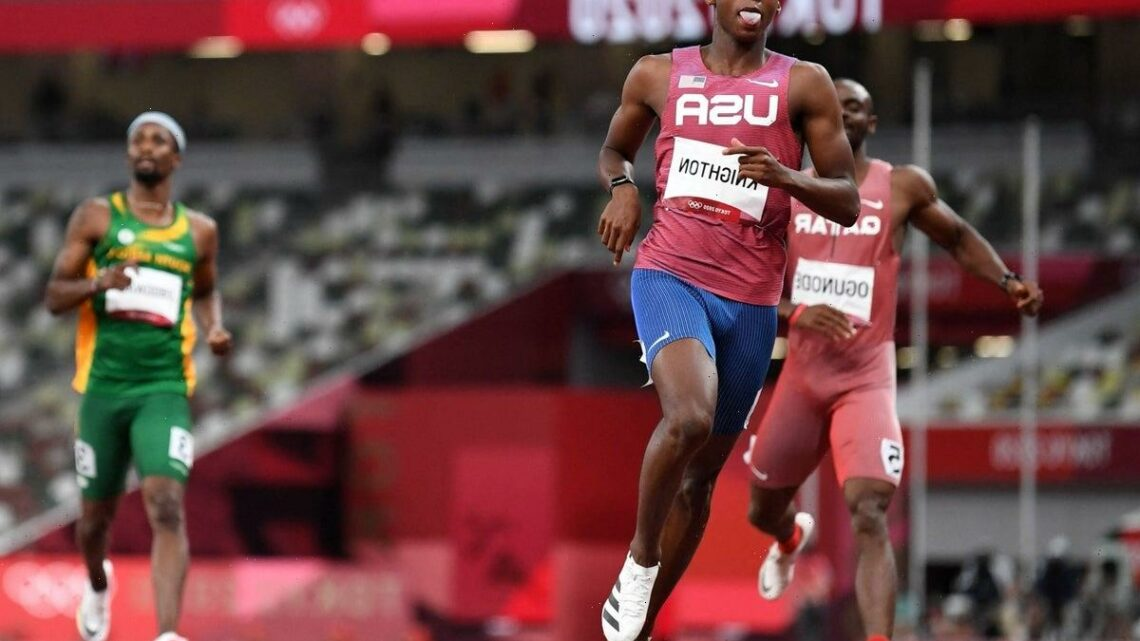 Who is Erriyon Knighton – the teenager who will compete for Team USA in 200m final
