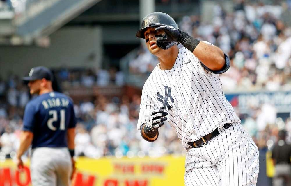 Yankees rally again to beat Mariners for fifth straight win