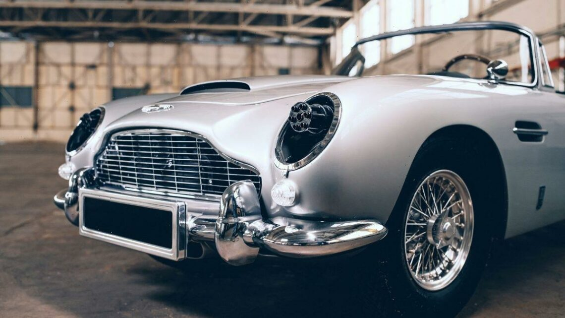'No Time to Die' Pint-Sized Aston Martin DB5 James Bond Edition Makes You a Spy for $123,000