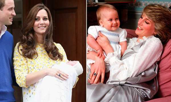 10 most beautiful photographs of radiant new royal mums