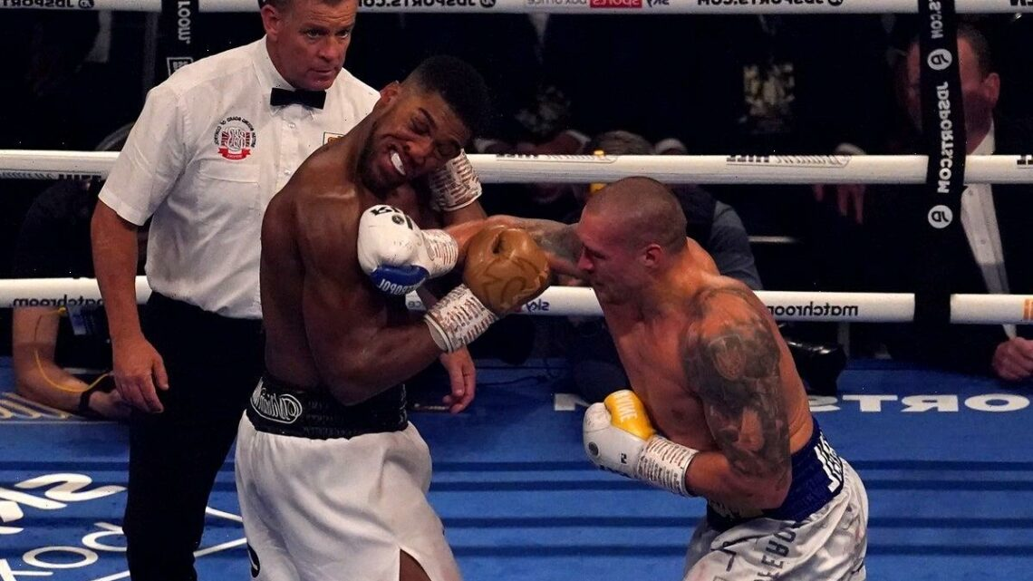 Anthony Joshua admits he has 'learnt his lesson' after rewatching Oleksandr Usyk fight