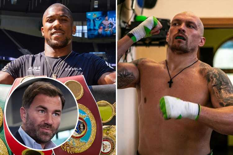 Anthony Joshua fight with Oleksandr Usyk pay-per-view cost revealed at hefty £24.95 leaving most fans fuming