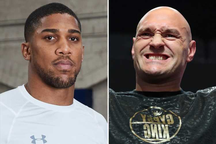 Anthony Joshua insists £100m fight with Tyson Fury 'will happen' and promises they will 'get it on in Britain'