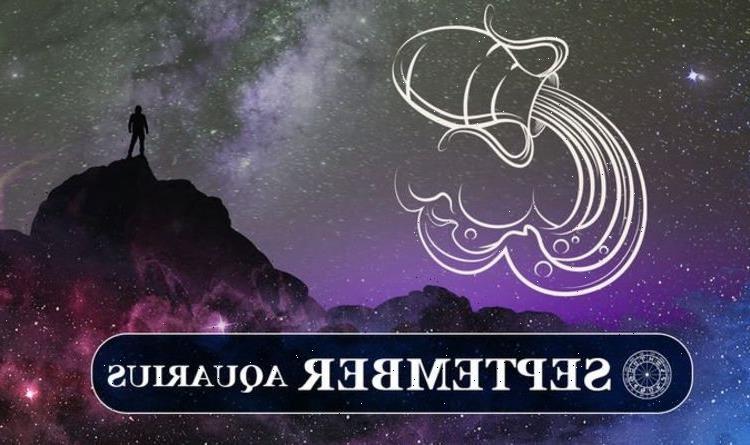 Aquarius September horoscope 2021: What's in store for Aquarius this month?