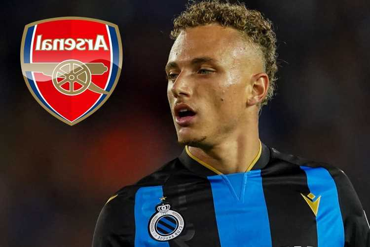 Arsenal face Noa Lang transfer battle with AC Milan but 22-year-old Club Brugge star interested in Emirates switch