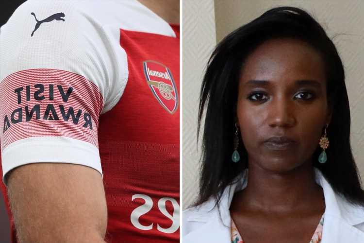 Arsenal told they should STOP taking Rwandan government's money over Hotel Rwanda hero's 'sham' conviction