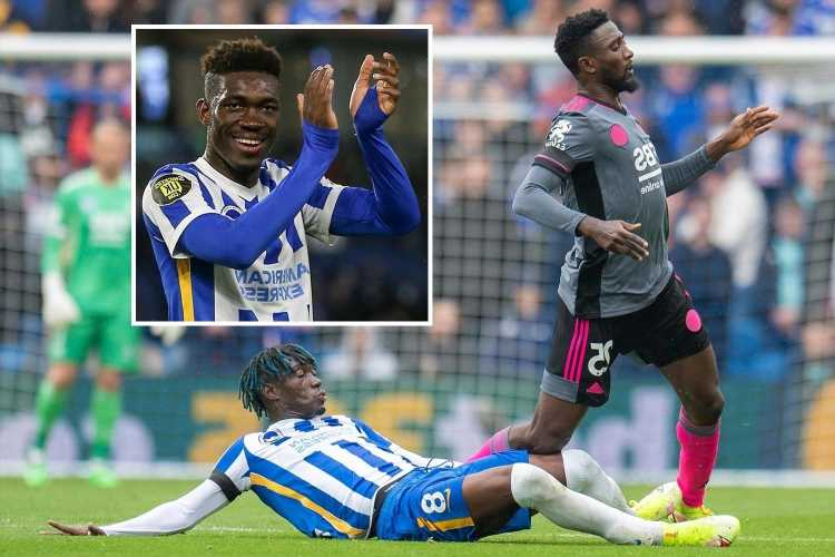 Bissouma teased by Brighton pals for declaring himself best Prem midfielder – but £50m star may have a point