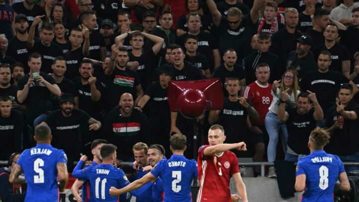 Boris Johnson blasts 'completely unacceptable' racist abuse against England aces at Hungary match as FIFA launches probe