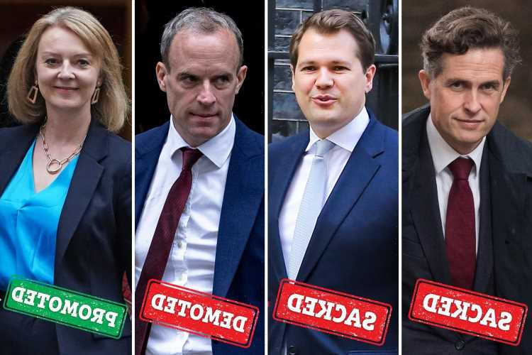 Cabinet reshuffle 2021 LIVE: Dominic Raab demoted & replaced by Liz Truss as Williamson is AXED – but Gove survives