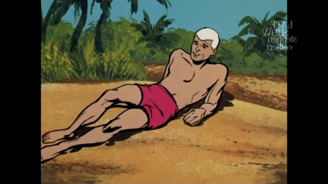 Colbert Imagines Mike Pence as a Cowardly 'Johnny Quest' Character (Video)